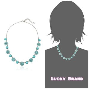 🆕 Lucky Brand turquoise collar necklace